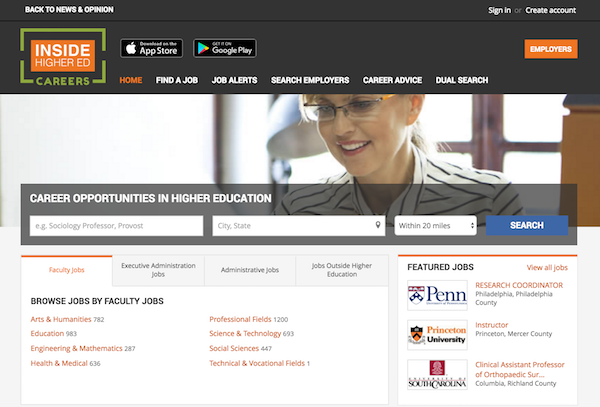 New Careers Site