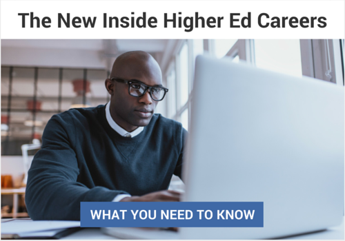 The New Inside Higher Ed Careers
