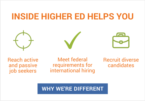 How Inside Higher Ed Helps You